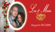 Save the Date Wedding  Cards or Magnets